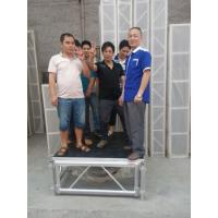 Mobile Heavy Loading Outdoor Stage Platform Adjustable Height 1.22*1.22m Assembling Manufactures