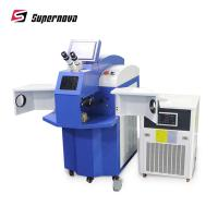 100W Jewelry Laser Welder , Portable Gold Silver Jewelry Spot Laser Welding Machine Manufactures