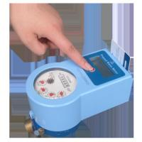 Prepayment Intelligent Cold Water Meter With Brass Valve Control Low Battery Consuming Manufactures