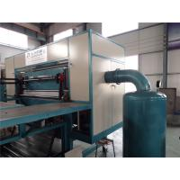 Energy Saving Egg Tray Production Line , Small Capacity Rotary Type Egg Box Making Machine Manufactures