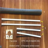 Home decoration anti mosquito DIY magnetic fly screen windows Manufactures