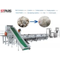 OEM LDPE PP PE Film Washing Line Scrap Recycling Production Semi Automatic Manufactures
