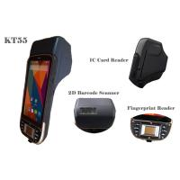 "5"" Handheld Rugged Androidpda Barcode Scanner Barcode Scanner / Fingerprint Scanner Manufactures"