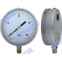 6 Inch stainless steel welding pressure gauge Manufactures