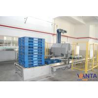 Balance Weight Automatic Palletizing Machine With Five Gallon Bottle Manufactures