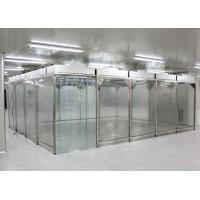 Class 10000 Microelectronics Softwall Clean Room With Fan Filter Unit Manufactures