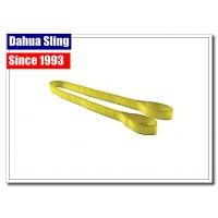 Commercial Woven Loading Straps And Slings , Flat Loop Eye To Eye Sling Manufactures
