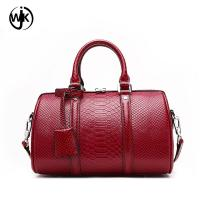 2018 handbag pillow shape genuine leather bag ladies new design fashion quilted handbag Manufactures