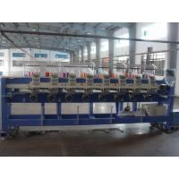 Flat Bed / Cap / Tubular Embroidery Machine For Laptop Cases Manufactures