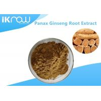 20% UV Panax Ginseng Root Extract Powder , Pure Natural Ginseng Herbal Supplement Manufactures