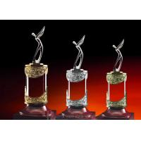 Gross Champion / Second / Third Reward Cup Golf Trophies For Talented Golfers Manufactures