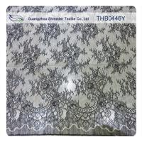 100% Nylon Lace Fabric Fashion Garments Wedding Dress Floral Stretch Lace Fabric Manufactures