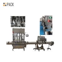 High Accuracy Chemical Lotion Bottle Filling Machine Easy To Maintain Manufactures