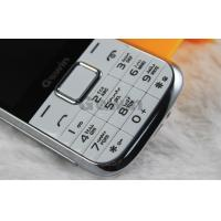White Blue Dual Sim Cards Dual Standby Phone , Expansion 8G TF Card Manufactures