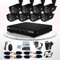 China Video Surveillance Infrared LED CCTV Outdoor Weatherproof 700TVL CCTV Camera DVR Kit on sale