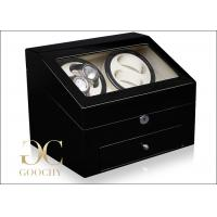 Self Rotating Wooden Automatic Watch Winders with 2 Independent Motor , 7.2 kg weight Manufactures