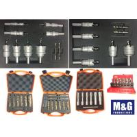 Metal Plastic Case Carbide Counterbore High Speed Steel Annular Cutter Set Manufactures
