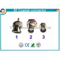 Straight 75Ω Cable Mount RF Coaxial Connector BNC Connector Plug RG59 Manufactures
