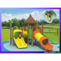 China corrosion-proof wooden outdoor playground,amusement park equipment,garden playground for home,children slide playground on sale