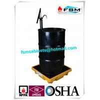 Poly 55 Gallon Drum Containment Pallets Spill Platform For Single IBC Drum Tank Manufactures