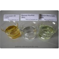 Legal Injectable Steroids Benzyl Alcohol BA Benzyl Benzoate BB Grapeseed Oil Manufactures