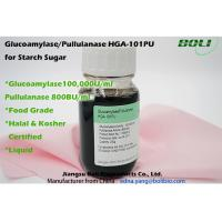 Pullulanase Enzyme 600B U / ml , Digestive Enzymes Amylase For Starch Suger Industry Manufactures