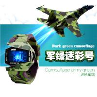China Analog LCD Digital Watch 30m Waterproof Outdoors Sport Plane Watches / Jelly Digital Watch on sale