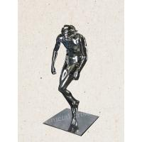 Indoor Abstract Modern Stainless Steel Sculpture Human Shape Design As Gallery Display