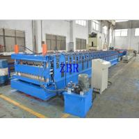 Buy cheap Wall Panel Roll Forming Machine , Tile Roof Making Machine Galvanized Metal Roofing Equipment from wholesalers