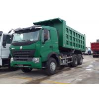 30 - 40 Ton Dump Truck A7-W Luxury Cabin ZF8118 Left Driving Driving Steering Manufactures