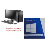 China PC Full Version Microsoft Windows 8.1 Pro 64 Bit Software Online Activate on sale