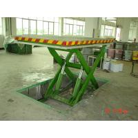 China Stationary hydraulic Sccisor lift table ,put in pit , all size color ,capacity on sale