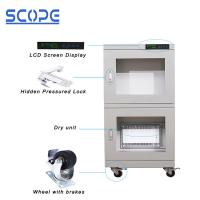 Ash White Color Dry Humidity Cabinet Ultra Low Humidity Full Modular Design Manufactures