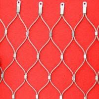 Stainless steel cable netting used as ceilings Manufactures