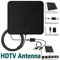 China Provide Black ABS best price vhf repeater thin digital indoor hdtv antenna on sale