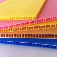 China Recyclable rigid fade resistance Coroplast Sheets Correx Plastic Sheets on sale