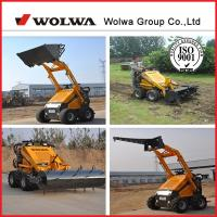 Quality Shandong equipment agricultural mini wheel loader for sale