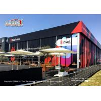 Buy cheap Black Cube Structure Double Decker tent for sale from wholesalers