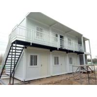 Fast Assembly Prefabricated Shipping Container Houses , 20ft / 40ft Shipping Container Home Manufactures