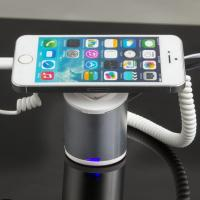 Quality COMER clip mobile phone charger display stands with alarm sensor and charging for sale