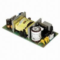 Quality Open Frame Switching Power Supply, Single-sided PCB, Current 30 to 60A/115 to 230V, 39 to 60W Supply for sale