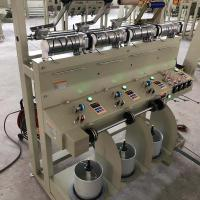 4 Heads Yarn Cone Winding Machine Low Noise 1200 Mt/Min Cotton Flax Wool Silk Manufactures