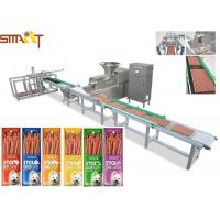 Protein Packed Meat Snack Processing Pet Making Machine For Dog Stick Food Manufactures