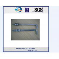 TS16949 Approved Truck Bolt And Nut / Railway Fastener T Bolts With Gray Phosphating Manufactures