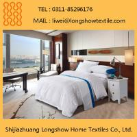 Hotel Bedding Room Embroidered Duvet Cover 100% Cotton Manufactures