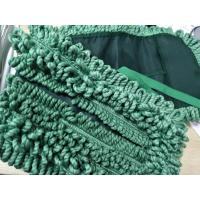 Green 16*95cm Tassels For Laundry Hotel Microfiber Wet Mop Pads Manufactures