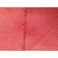 China Healthful Pink Hemp Blend Fabric Organic Cotton Twill Textile for Luggage / Handbag on sale