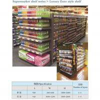 China Heavy Duty Supermarket Shelf Display Multi Layer Double Sided Or Single Sided on sale