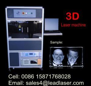 3D Portrait Engraved Crystal