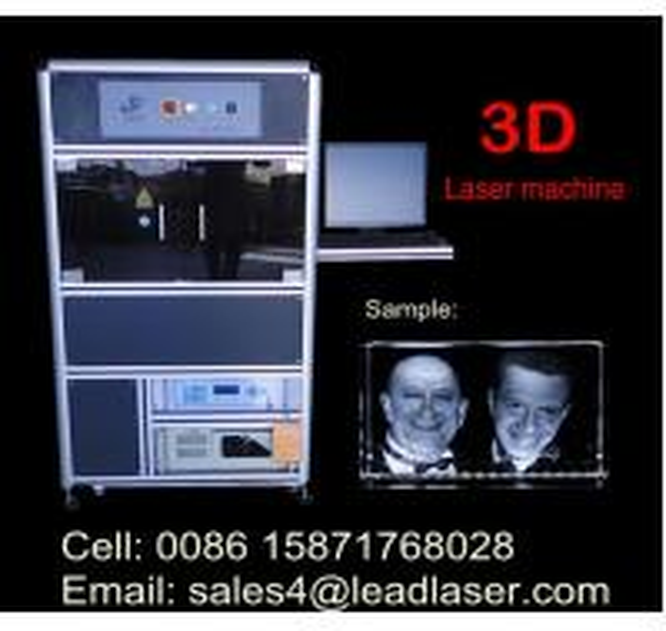 Quality 3D Portrait Engraved Crystal for sale